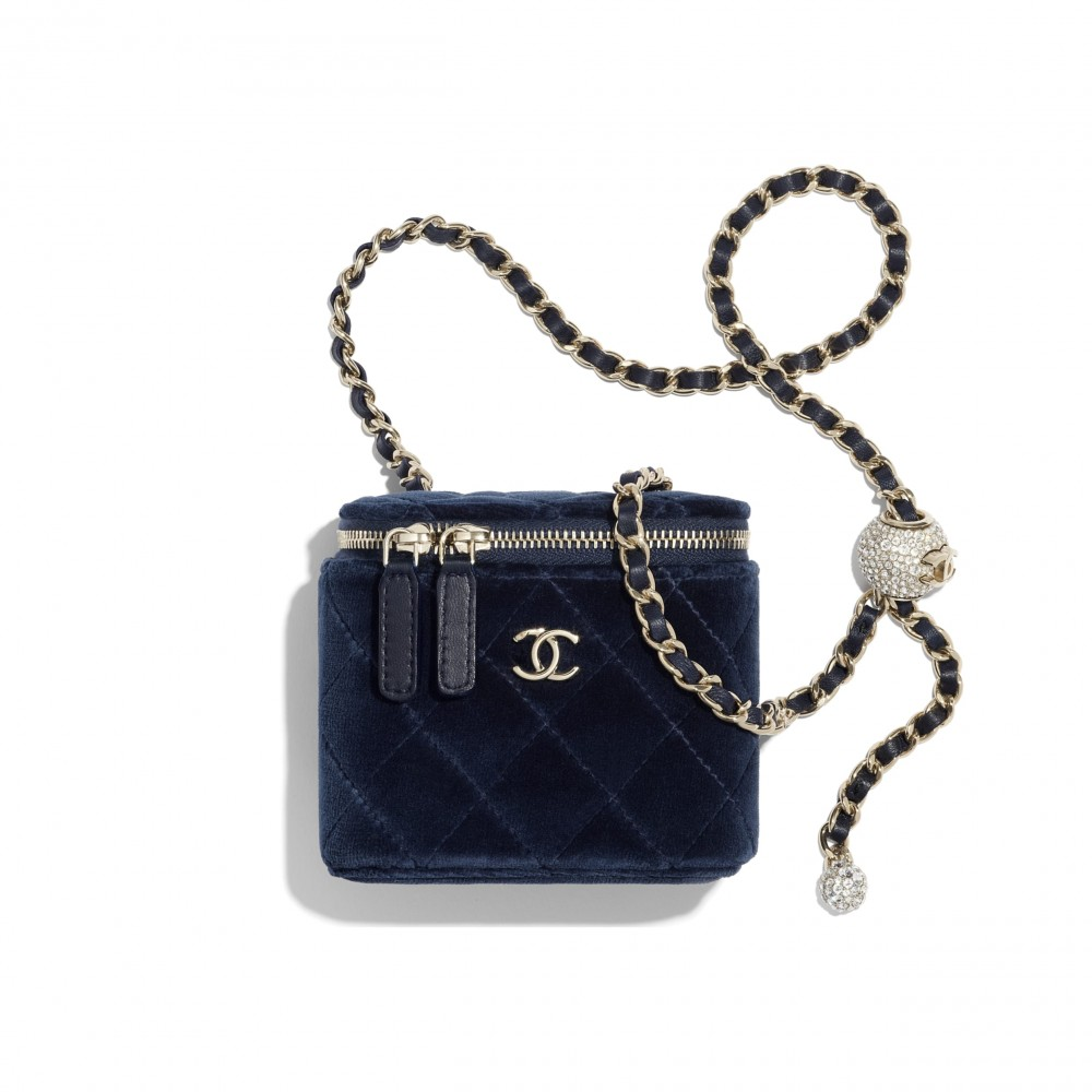 Chanel small classic box with chain HKD16,000
