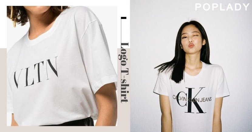 【日常穿搭】明星必備Logo T-shirt 5款大牌最值得入手的經典款式