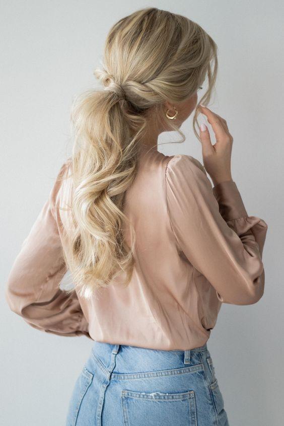 抗疫馬尾髮型