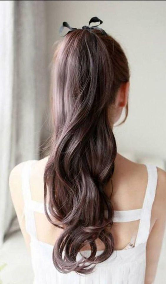 7款清新馬尾髮型推薦