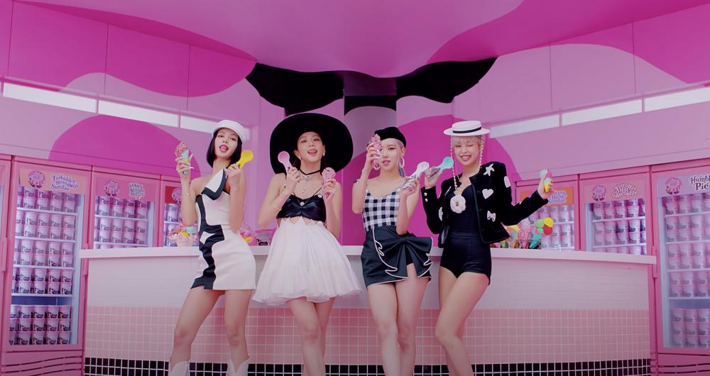 BLACKPINK +Selena Gomez 新曲 潮跟Jisoor絲巾