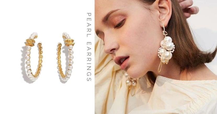 【珍珠耳環穿搭】CHANEL、Dior等11款珍珠耳環推薦  不止顯白還能輕鬆添上優雅氣質