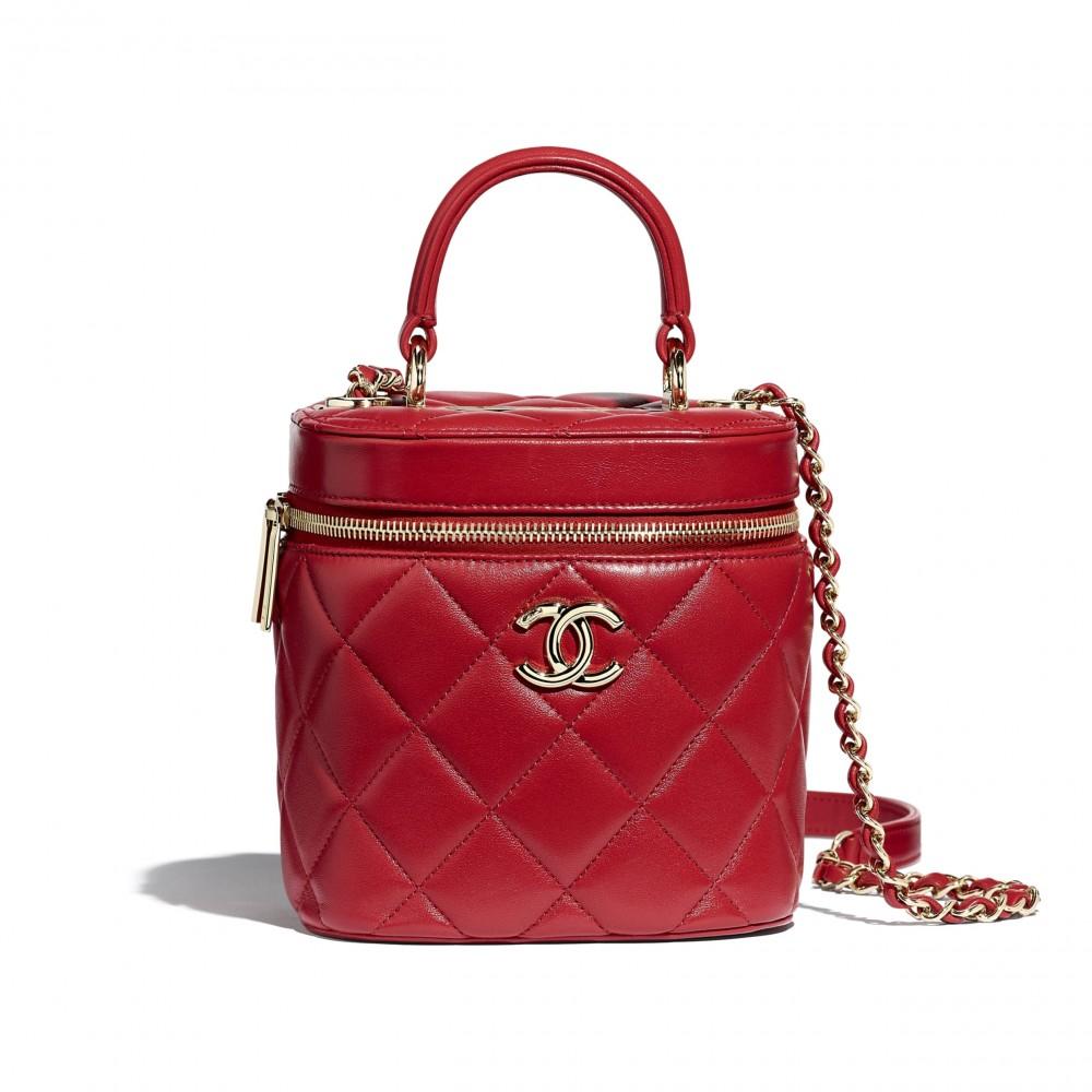 Chanel Vanity Case家族中大熱焦點,最令人心動的絕美色調化妝箱!