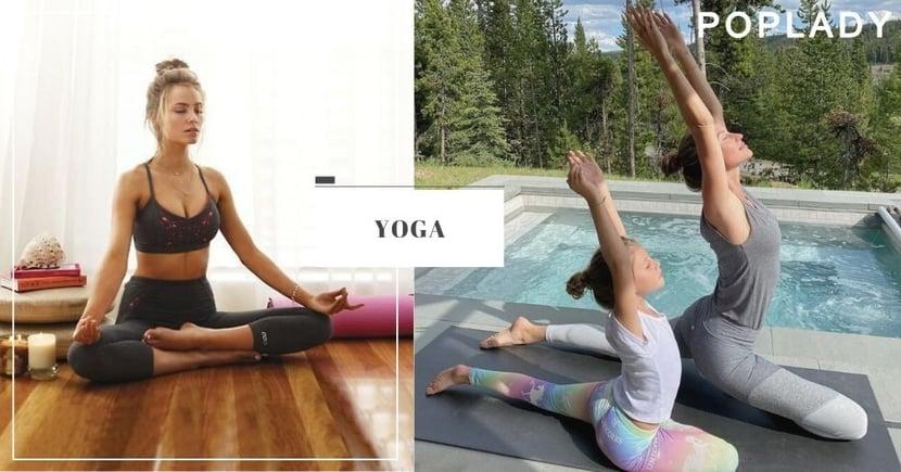 【瑜伽】10分鐘輕鬆早晨瑜伽,既瘦身又能精神一整天!