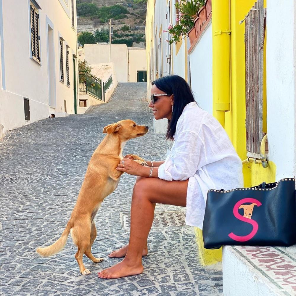 Valentino Garavani Rockstud Pet線上企劃 獨家訂製專屬愛犬袋006