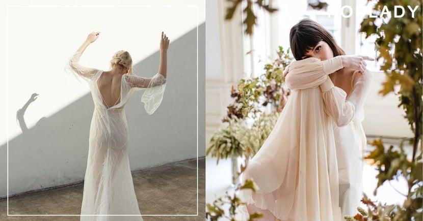 【婚紗2020】今年最流行的婚紗風格 在復古、簡約中挑選出最適合的設計!