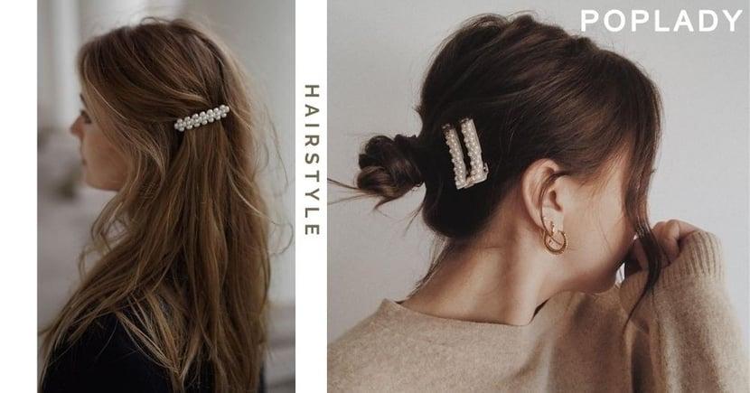 【髮飾推薦】上班族OL適用的5款氣質髮飾,不用早起也能有完美髮型!