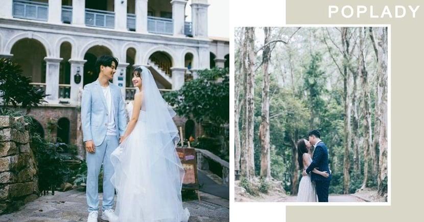 【婚紗攝影推薦】 本地「輕婚照」攝影師 在香港也能拍出歐美、居家、自然高質感!