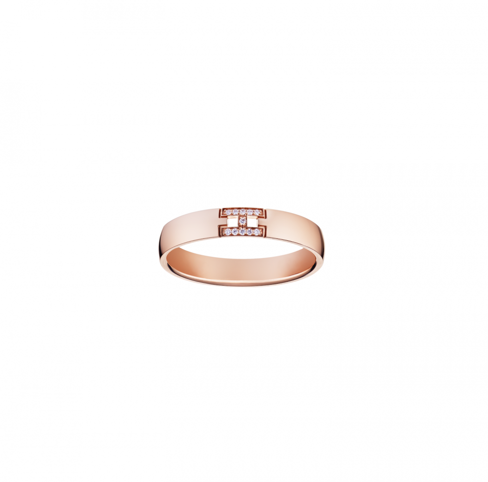 時尚極簡主義-Hermès、Cartier、CHANEL、Tiffany-Co.-入門級結婚戒指02