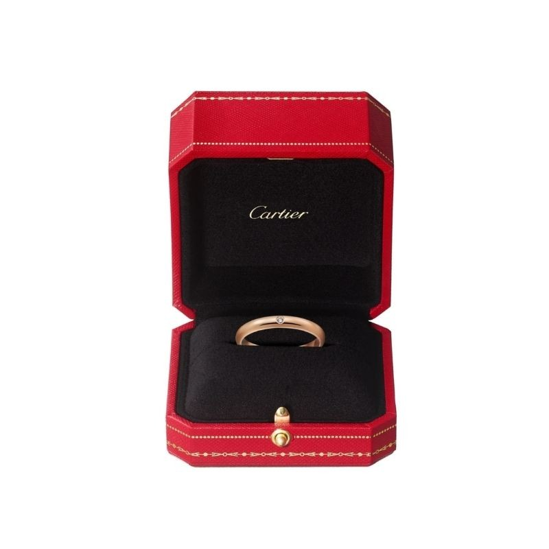 時尚極簡主義-Hermès、Cartier、CHANEL、Tiffany-Co.-入門級結婚戒指