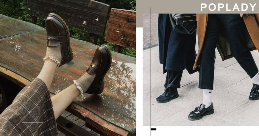 2020秋冬必備皮鞋!今年先收起修腳款 這款厚底、硬朗Loafers正當道!