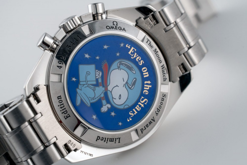 Omega Speedmaster第3代史努比腕錶終登場, 具升值潛力嗎?