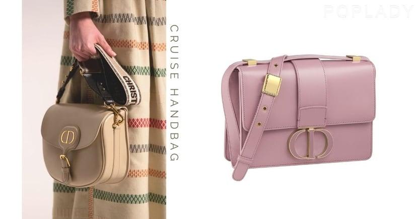 【Dior手袋 2021】早春迷人粉色手袋搶先登場!雲藍、薰衣草紫必成搶購對象!