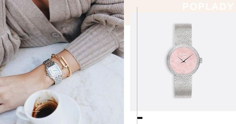 【女裝名錶】Piaget、Cartier等5款時尚百搭、入門級款式 讓30+女生格調提升