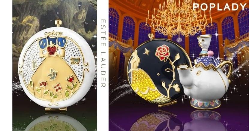 超美!美國Estee Lauder聯乘迪士尼推出公主限定妝品系列!