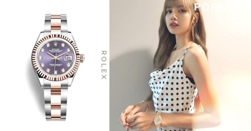 【Rolex女錶推介】女生最愛百搭勞力士錶Top 5! 跟Lisa、Jisoo襯出閨蜜時尚感