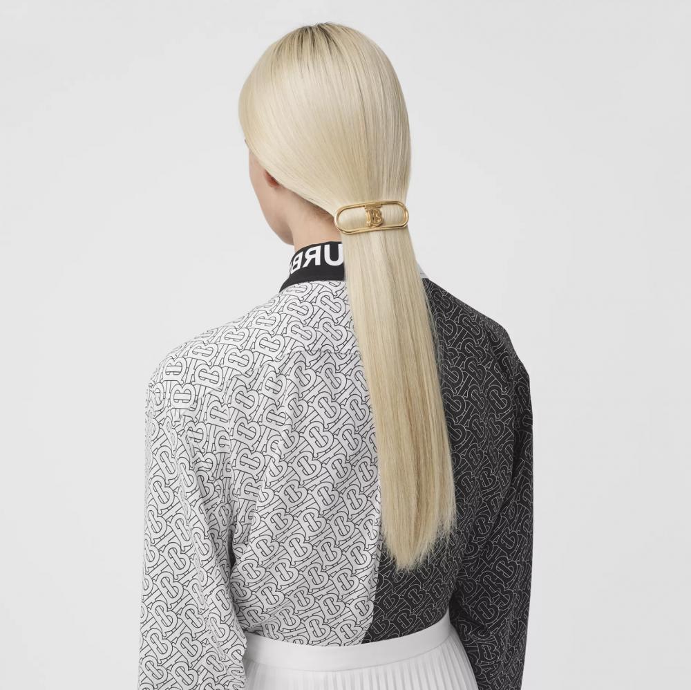 Dior、Gucci、Prada髮夾造型,零技巧打造高級具質感的時尚髮型004