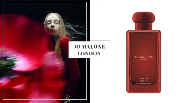 【2021香水推薦】新香搶先看!Jo Malone London「緋紅罌粟」絕美鮮紅復古瓶身