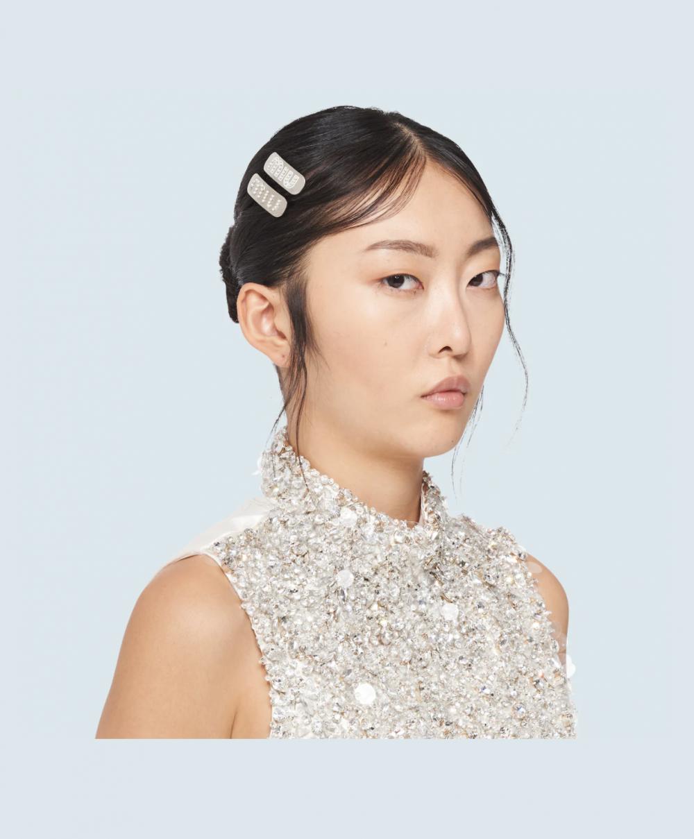 Dior、Gucci、Prada髮夾造型,零技巧打造高級具質感的時尚髮型