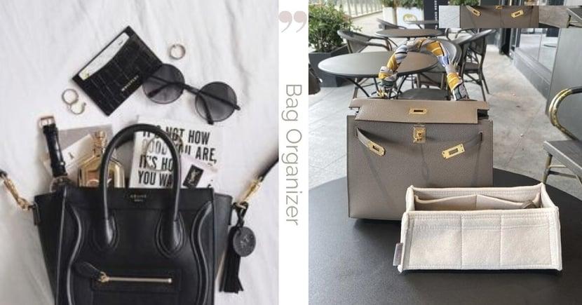 名牌手袋告別凌亂:#編緝精選高質收納內袋品牌,連愛馬仕用家都喜愛的款式