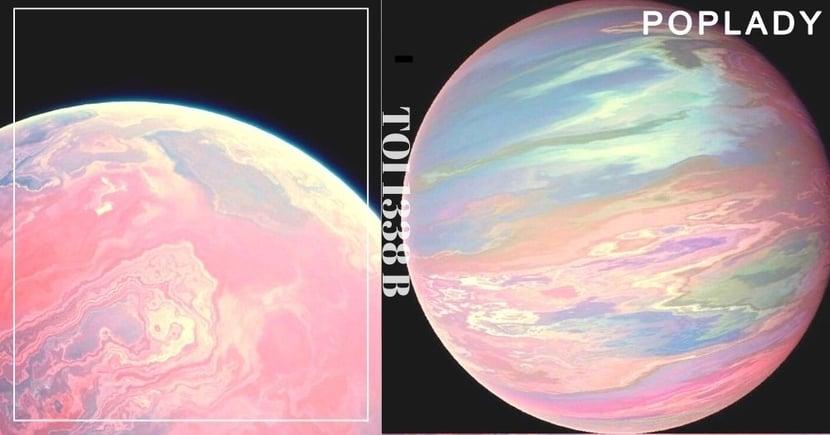 NASA發現「粉紅行星 TOI 1338 b」!漸變色外表超夢幻,成為少女的夢想居住地!
