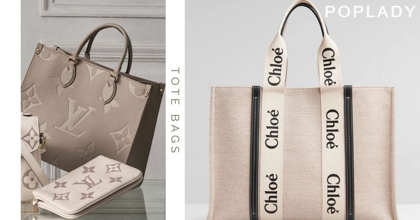 Chloé Woody Tote日本女生都為它瘋狂,本季Louis Vuitton、CELINE自然系新款Tote Bag推薦 !