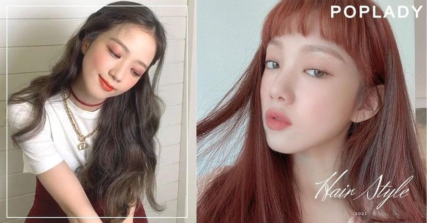 韓國造型師透露:2021髮色趨勢減齡霧黑茶棕、顯白玫瑰紅茶棕,盡顯時尚又知性氣質感!