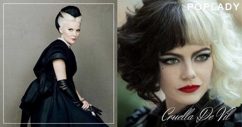 《黑白魔后》Emma Stone瘋癲演技演活「庫伊拉」,「她」卻用生活演成現實中「最時尚的壞女人」!