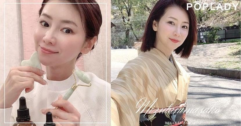 52歲日本美魔女水谷雅子告訴你:不用昂貴保養品,每周只做刮痧便可逆齡廿載!