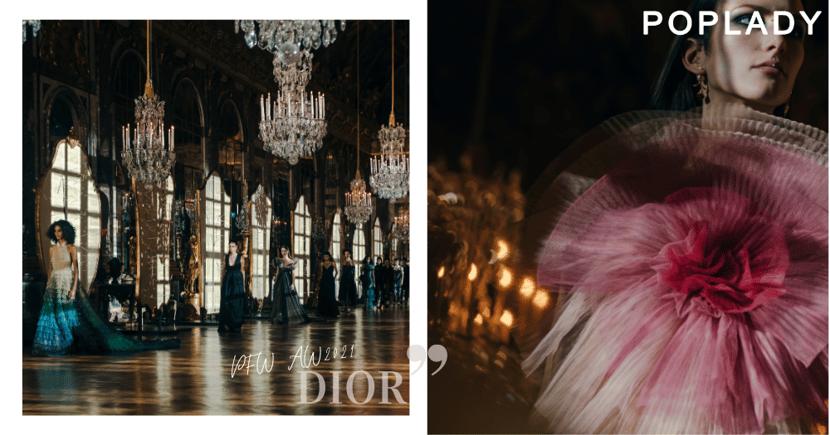 #PFW Dior 2021秋冬系列:從棘刺鏡子走進不一樣的童話, Jisoo成全球品牌大使加持