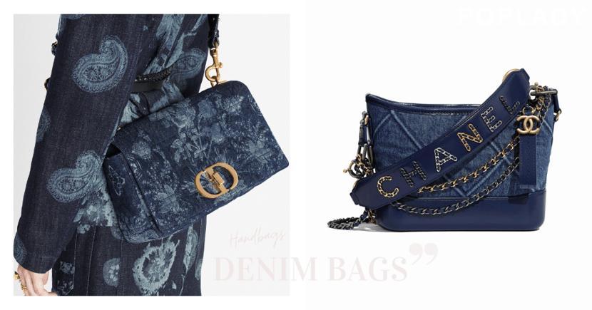 時尚不敗經典「丹寧」:CHANEL、Dior等新款牛仔手袋 ,一年四季都好搭的款式!