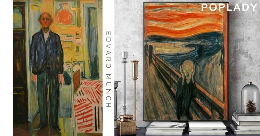 Edvard Munch的心靈讀白:隱藏在《吶喊》「只有瘋子才畫得出來」神秘字句,揭露他心中所想!