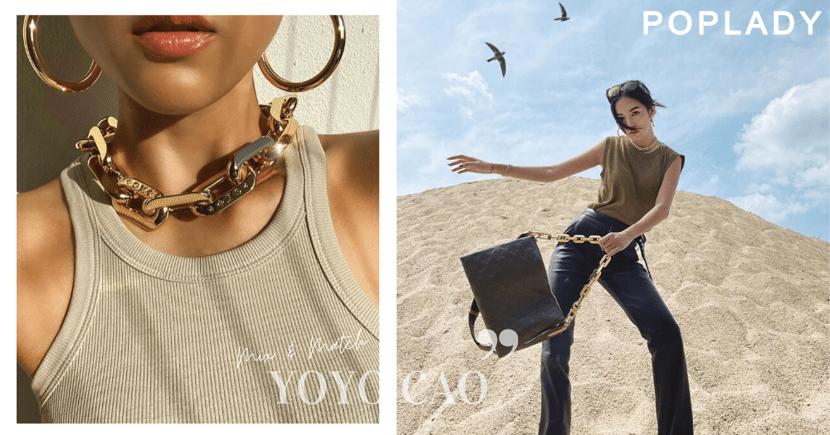「將LV金屬袋鏈變潮流Choker項鏈」:向時尚博主取靈感, 尋找春夏大熱流行元素