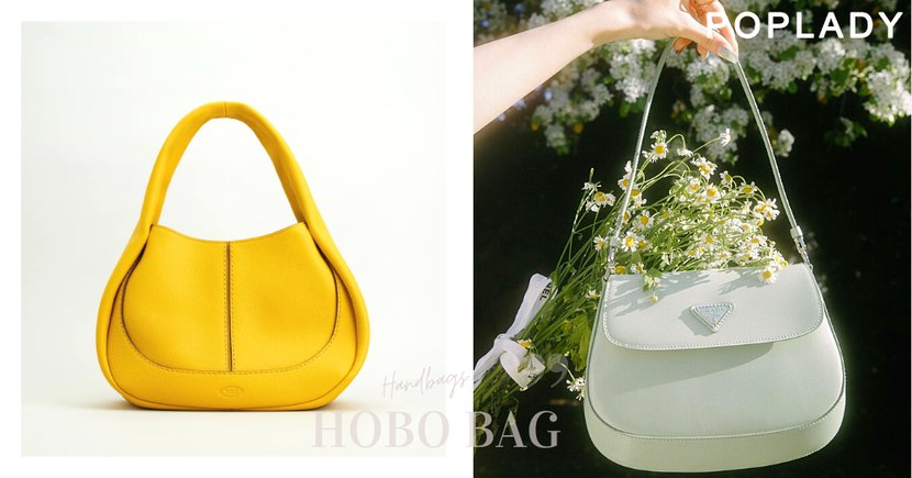 春夏亮眼清新配色Hobo Bag 腋下包 , 讓時髦女生都默默收藏的復古百搭款式