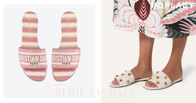 夏日的美好配搭:只要是一雙辨識度高的經典平底涼鞋,輕鬆營造高級感休閒渡假風