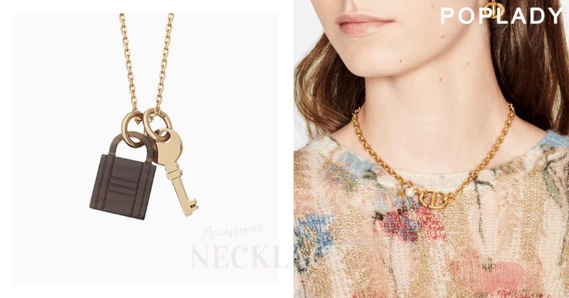 完美襯托出鎖骨線條:Hermès、CHAENL等經典元素項鏈推薦,辨識度高細膩設計盡顯簡約優雅