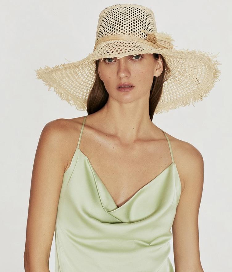 今年夏天就靠#Straw hat草編帽