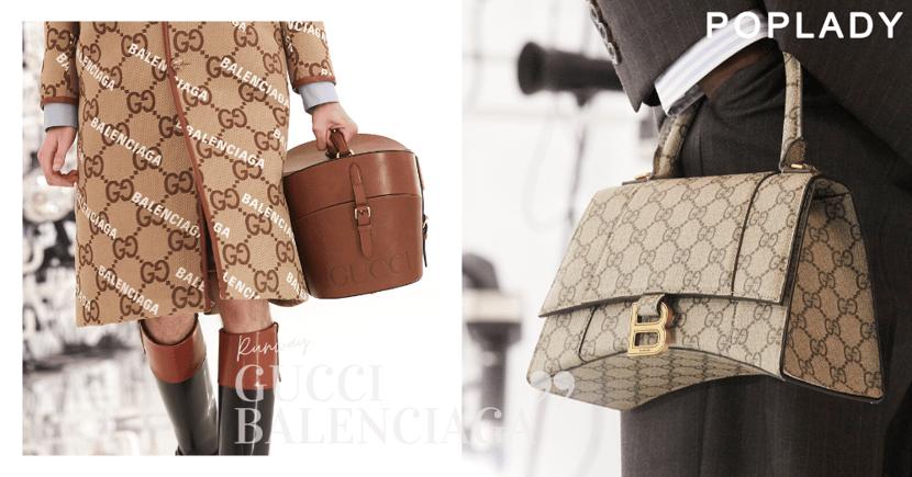 Gucci與Balenciaga的話題作誕生:震撼時尚界的最強聯乘,流潮基因改造糅合合兩牌經典
