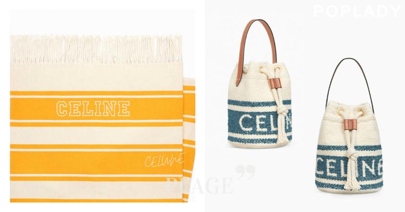 首推泳衣與沙灘巾:CELINE春夏Capsule系列「Plage」,釋放法國海岸清新度假氣息