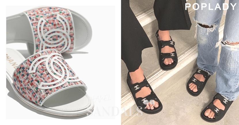 CHANEL高質感新款涼鞋推薦,再搭配這些服裝單品穿出休閒時尚感