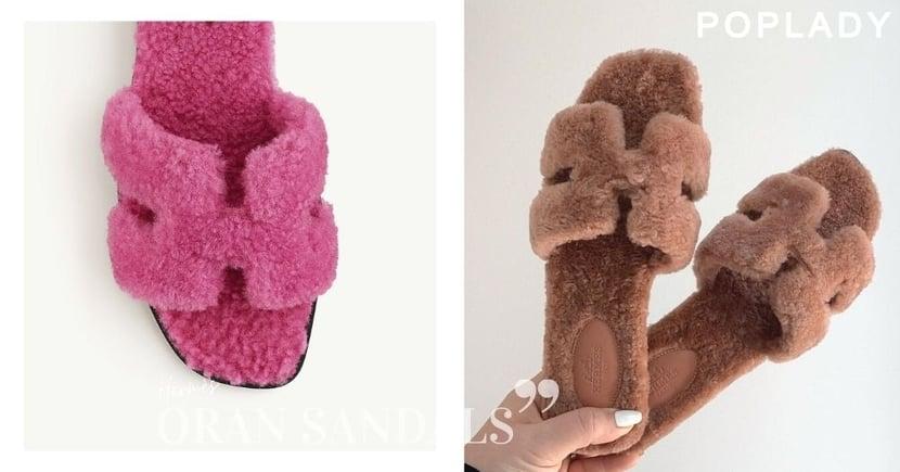絕對會激發你的少女心:下一個Hermès的人氣單品,泰迪熊版Oran Sandal涼鞋可愛登場