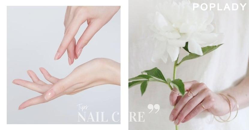 指甲日常保養學:告別「易斷」、「乾澀」,擁有高級感的光澤、健康自然裸甲