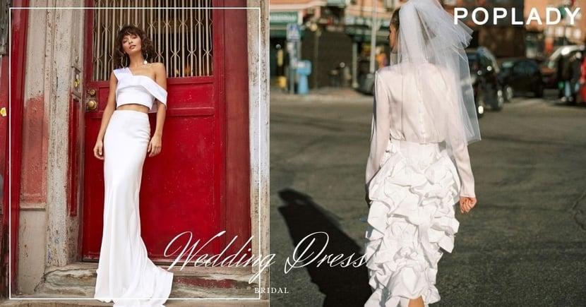 現代新娘的簡約嫁衣:平衡浪漫與個性的新派婚紗 ,帶來輕盈時尚的選擇!
