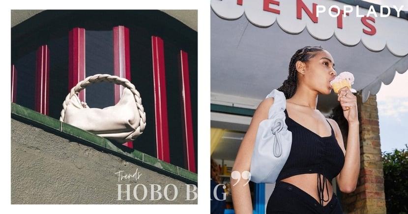 媲美大品牌的工藝:流行新派風格新月廓型流浪包,小眾美學Hobo Bag推薦