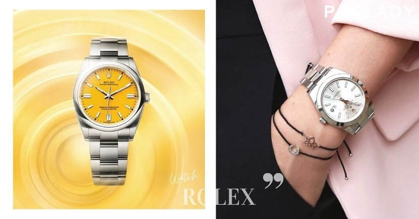 Rolex色彩學:亮麗色調勞力士推薦,從挑選的顏色就能看出你的個性!
