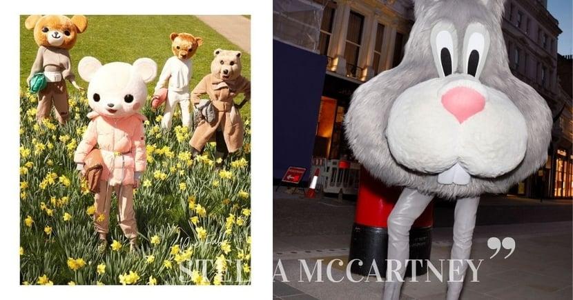 Stella McCartney的美好世界:2021秋季概念大片,帶入可愛動物漫步在倫敦街頭!