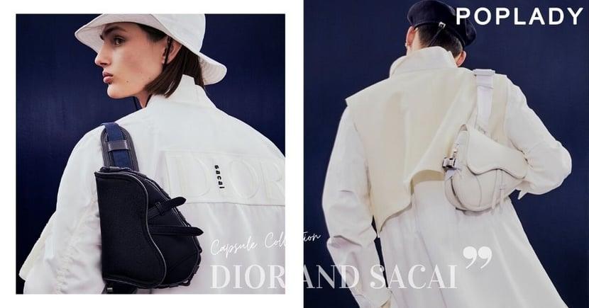 Dior × sacai聯名成真!57件單品誕生,注入機能美學的Saddle Bag女士們來季必收