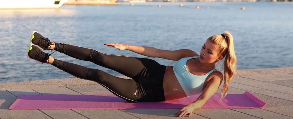 每日10分鐘免器材鍛鍊腹部:跟著德國健身女神Pamela Reif 練出漂亮AB線