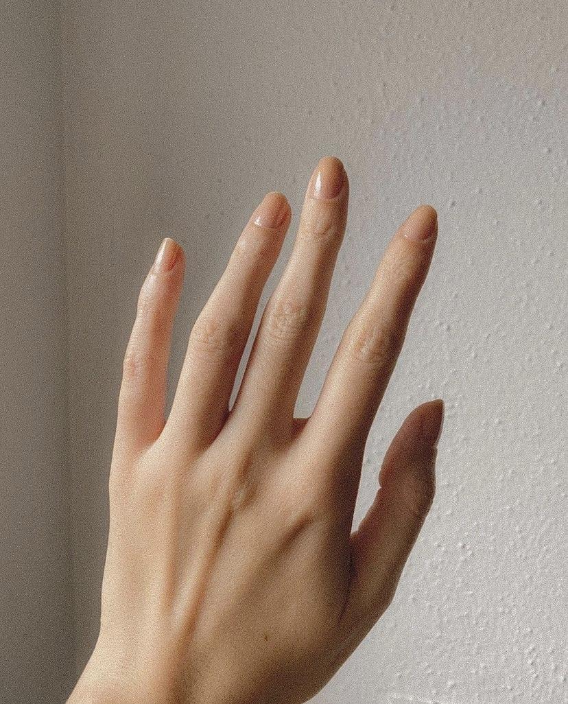 Healthy Natural Naked Nails