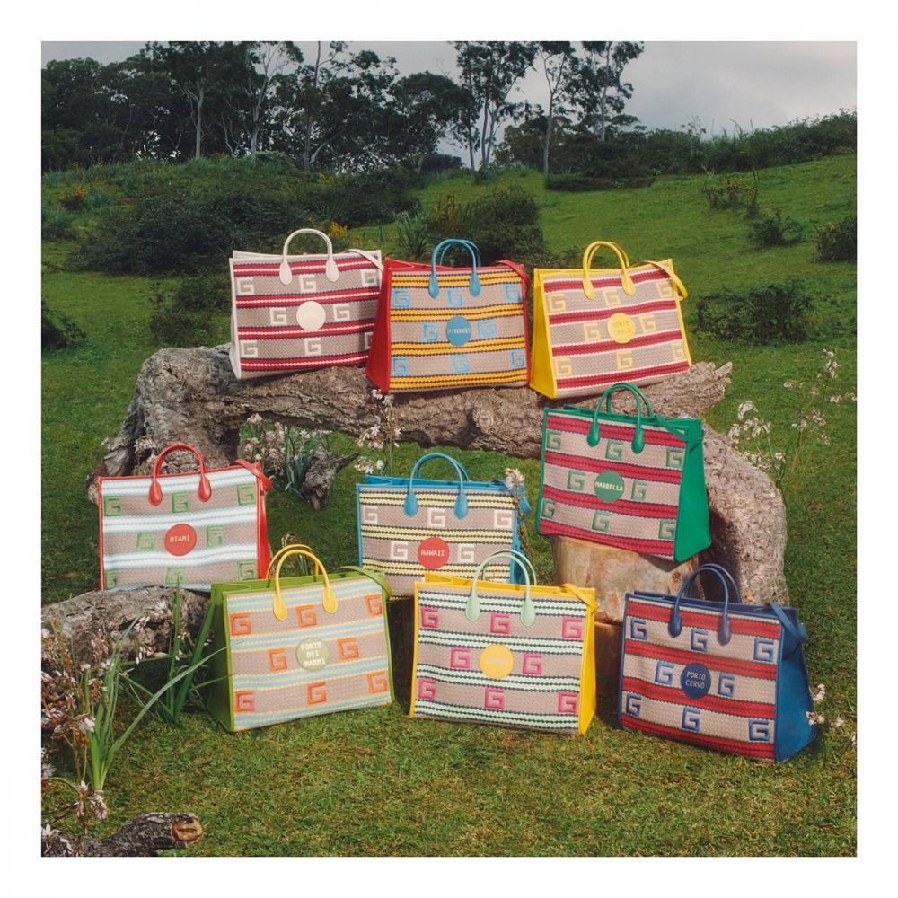 像明信片般的收藏!Gucci夏日度假手提袋系列讓你收納世界著名度假勝地